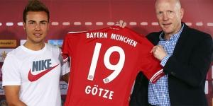 Mario Götze durante su presentación como jugador del Bayern de Múnich. (c) EFE (El Mundo)